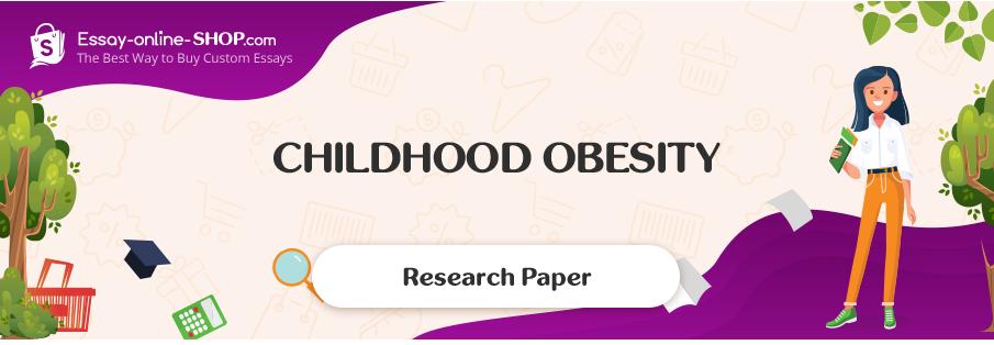 Essay on obesity in children