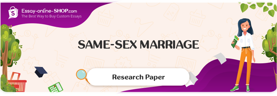 Same sex marriage essays