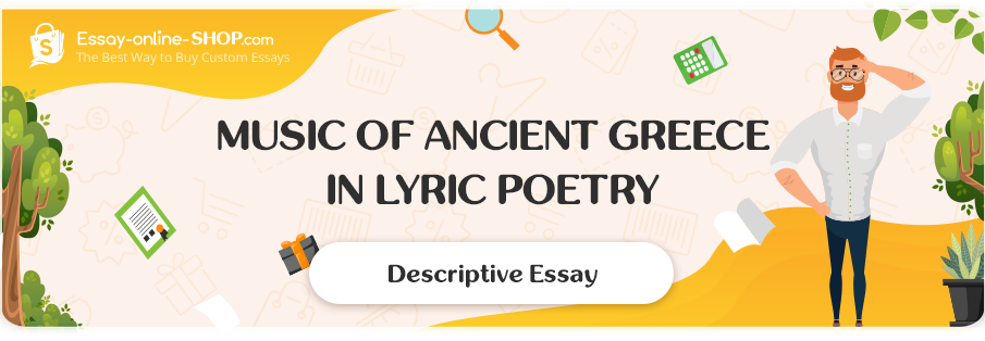 Music of Ancient Greece in Lyric Poetry