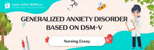 Generalized Anxiety Disorder Based on DSM-V